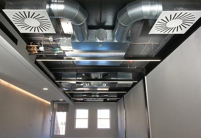 COndizionatore canalizzato per uffici a Milano