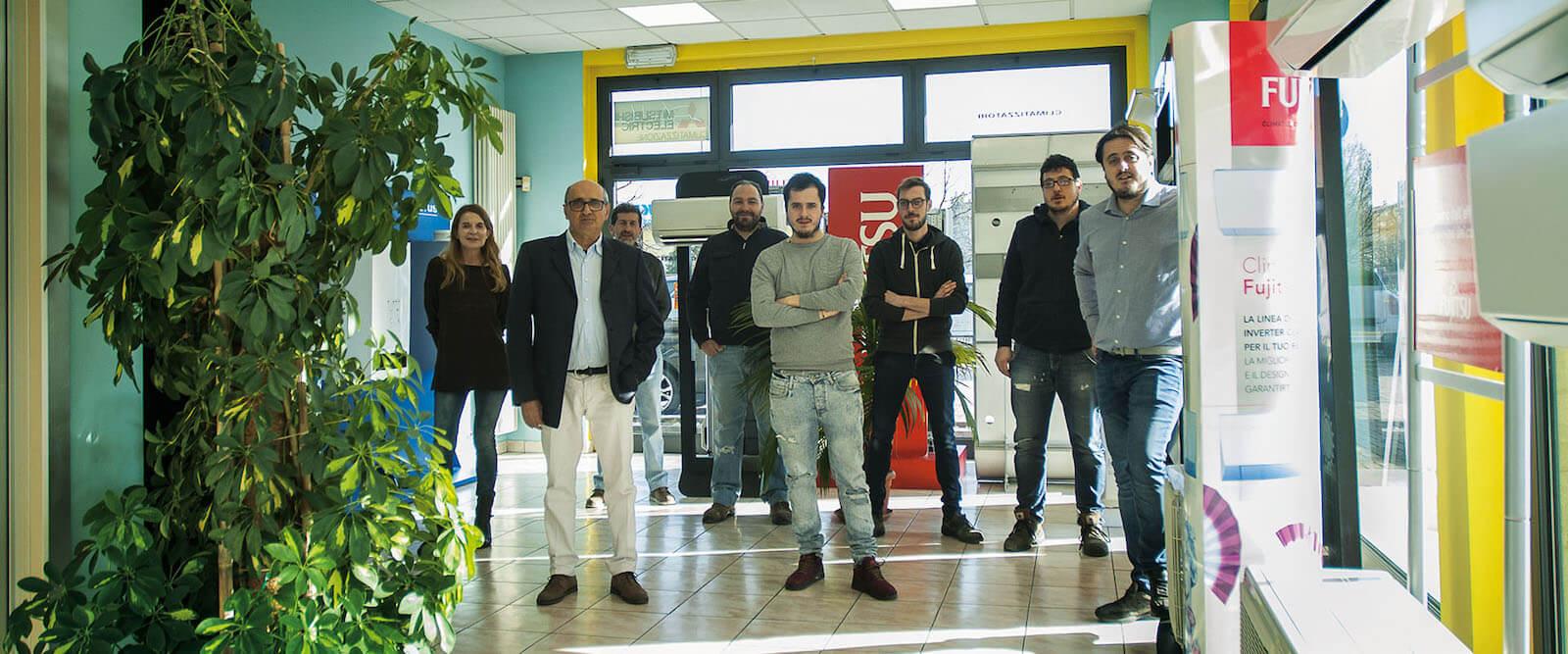 Il team di Milano condizionatori