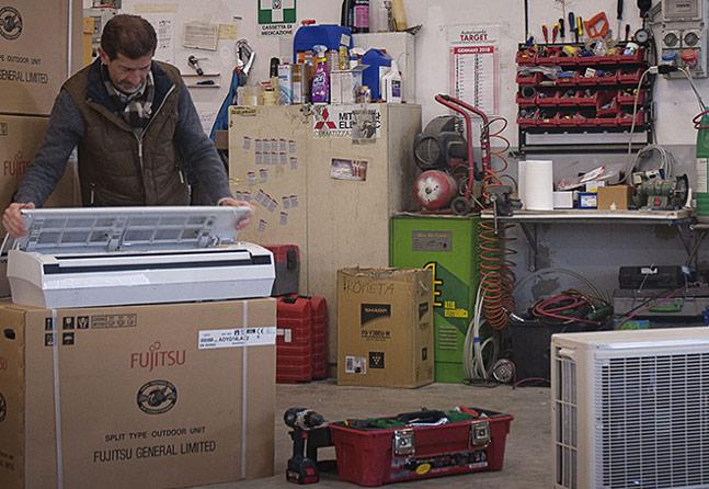 Manutenzione condizionatori Milano